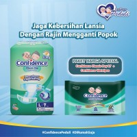 Confidence Adult Classic Day L 7's & Confidence Adult Wet Wipes