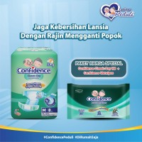 Confidence Adult Classic Day M 8's & Confidence Adult Wet Wipes