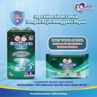 Confidence Adult Classic Night XL 6's & Confidence Adult Wet Wipes