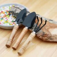 peralatan Alat berkebun sekop garu mini 3 in 1/ garden tools 4.9