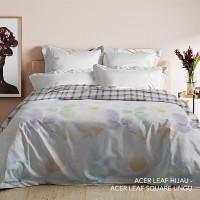 King Rabbit Bed Cover Ukuran Double 230x230 cm Motif AcerLeaf
