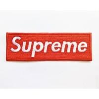 Patch Bordir Supreme Logo