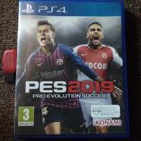 kaset PS4 second PES 2019 option file update 2020 bonus flashdisk 16gb