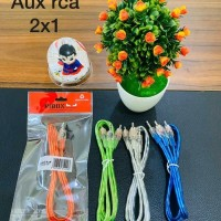 Kabel Aux Audio 2in1 LG For Speaker