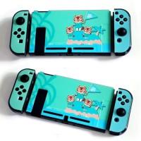 Nintendo Switch V1 V2 Animal Crossing Case Casing Shell Housing Cover