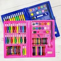 Pensil Warna Crayon Spidol Cat Air Set Pencil Color Crayon Penggaris