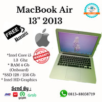 TERMURAH MACBOOK AIR 13 INCH 2013 SSD 256 OEM