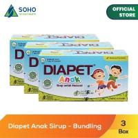 Diapet Anak Syrup Untuk Mencret - 6 Sachet @10ml - Pack Of 3 Box