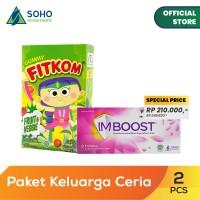 Paket Keluarga Ceria - Imboost Tablet dan Fitkom Gummy