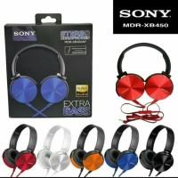Earphone Headset Headphone Bando Sony MDR XB450 EXTRA BASS