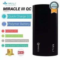 Original MiLi Power Miracle III Qualcomm 3.0 10000 mAh Power Bank