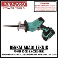 NRT-PRO Recipro Saw TR 83DC Cordless Gergaji Jigsaw Baterai Mesin
