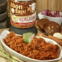 Abon Sapi Premium Makanan. Lokal