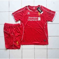 Jersey Anak Stelan Liverpool Home
