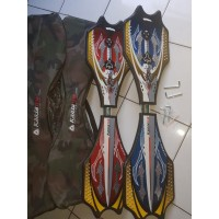 Waveboard / Snakeboard / Skateboard goyang/ Swayboard Kansa ORIGINAL