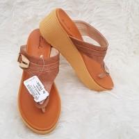 Sandal Wedges Wanita Carvil Groove/Sandal Carvil Wanita/sandal Wanita
