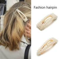 IK16 Korea Pearl Fashion Hair Pin Jepit Rambut