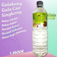 Gulakong | Gula Cair Asli Singkong - Rendah Kalori | Botol 1350gr