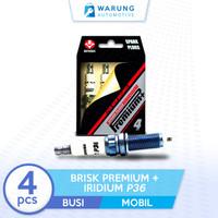 Busi Mobil BRISK Premium + Iridium P36