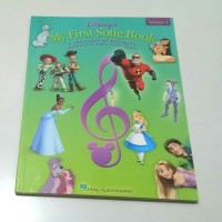 Disney My First Song Book Volume 4 Buku piano Disney full colour