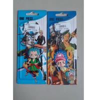 Gantungan Kunci Rubber Karet Anime One Piece Zoro Chopper 01