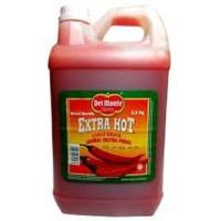Saos Sambal Del Monte Extra Hot Jerigen 5 KG