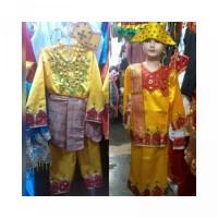Baju gorontalo TK - SD pakaian adat sulawesi utara anak S-M Pr Lk