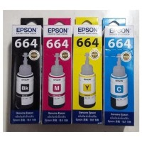 Tinta Printer Epson 664 SET B,C,M,Y Original BerHologram Epson