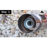 Silencer Muffler Knalpot Removable Bahan Metal untuk Motor