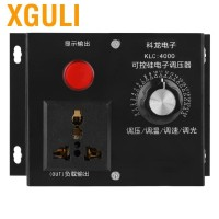 Xguli 4000W AC 220V Controller Voltase untuk Kipas Motor Speed