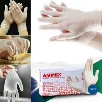 100X Sarung Tangan Sekali Pakai Medis Sarung Tangan Bedah Nitrile