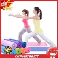 Matras Yoga Olahraga Anti Slip Tidak Licin Ukuran 61x173x6 cm