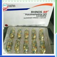 Dijual Rhinos SR rhinositis obat pilek per strip ya 10 pcs Berkualitas