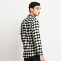 MENTLI Kemeja Flanel Pria - Jake Flannel Shirt