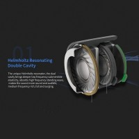 HIFI hanging ear sports Earphone subwoofer with microphone