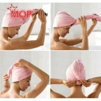 ★ Towel Cap Quick Dry Hair Turban Wrap Microfiber Bathing Magic