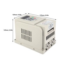 XGULI PWM 220V AC Variable Frequency Drive VFD Speed Controller