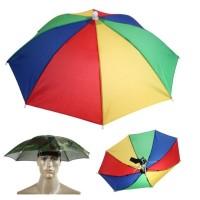 Payung Kepala 9 Tipe Anti Hujan / Matahari untuk Memancing
