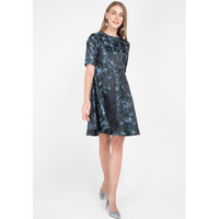 Edition Woman's ED69 Dk. Green (Print) Dresses