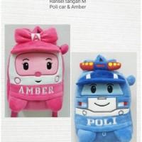 Terpopuler ! Backpack Import Tas Ransel Anak Boneka Robocar Poli Amber