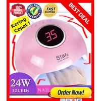 Pengering Kutek Gel Uv / 36 W Led Uv Lamp portable nail dryer