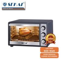 Sekai Oven Listrik 26 Liter Rotisserie OV260 OV 260 Elektrik Toaster