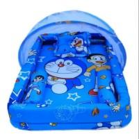 Kasur Bayi Kelambu / Kasur anak / Doraemon / Set Kolam / Tempat tidur