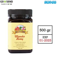 Hillary Farm Manuka Honey 500gr Madu New Zealand Asli Original