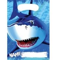 Pembungkus Souvenir Tema Shark Splash - Perlengkapan Pesta Ulang Tahun