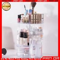 Rak Make Up Putar 360 Derajat Mika Akrilik Tempat Organizer Kosmetik