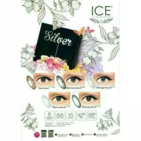 Softlens X2 Ice Gold Silver 15MM by Exoticon
