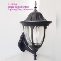 L1083 lampu dinding hias taman pilar e27 waterproof outdoor pagar