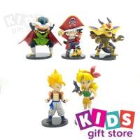 Dragon Ball Chibi Figure Set 5pcs - Mainan Figur