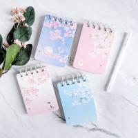Dear Cherry Blossom Spiral Ruled Notepad A7 / Buku Tulis A7 / Buku A7